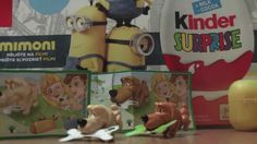 Hungry Dogs FS132 FS134 Kinder Surprise Egg Toys Autumn 2015