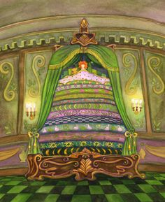I could never sleep on a pea! Princess and the Pea by Hans Christian Andersen