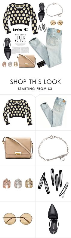 """Style is everything"" by sabinakopic ❤ liked on Polyvore featuring Kershaw, Xhilaration, American Eagle Outfitters, Marc by Marc Jacobs, H&M, River Island, Nine West and trescjewelry"