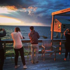 Instagraming the instagramers.   #photoshoot #sunset