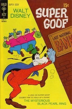 That's one way to hold up a bank. The Beagle Boys demonstrate another.
