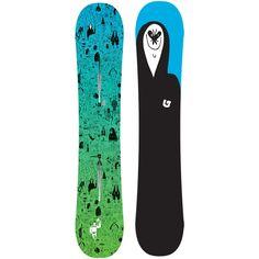 Burton Ration Restricted Snowboard: 155