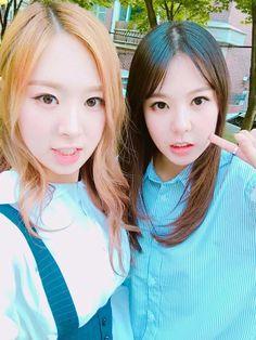 160519 Minjae (민재) Twitter update with High.D (하이디)