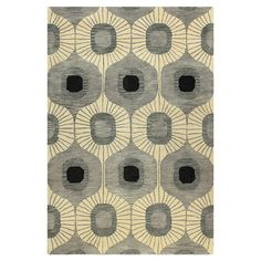 Hand-tufted wool rug.   Product: RugConstruction Material: 100% WoolColor: GreyFeatur...