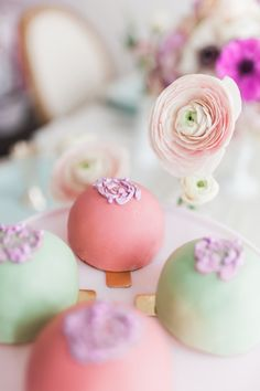 Truffles: http://www.stylemepretty.com/living/2015/03/31/the-prettiest-easter-tea-inspiration/ | Photography: Ainsley Rose - http://www.ainsleyrose.com/