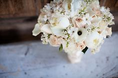 LOVE this feminine bouquet!
