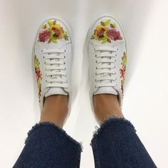 LOVE these super cute @dune_london trainers for the summer  #shoefie