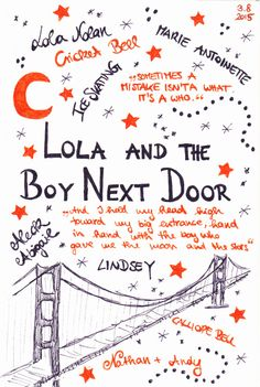 comiziale: Book Diary: Lola and the Boy Next Door - Stephanie Perkins