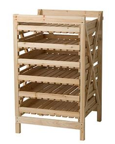 Root cellar rack- need this for my onions & potatoes