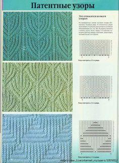 knit ribbed patterns