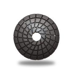 Zered 3 in. C-Series Buff Premium Diamond Polishing Pad For Granite Marble Tools And Equipment, Steel Toe, Granite, Stone Polishing, Diamond, Marble, Black, Black People, Granite Counters