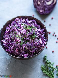 Polish Recipes, Polish Food, Recipe Images, Coleslaw, Cabbage, Salads, Vegetables, Kicks, Gastronomia