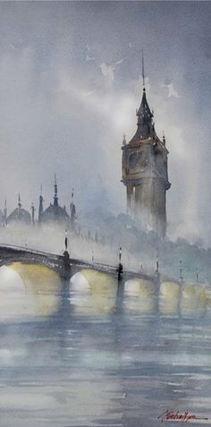 THIS > Intuition, Emotion and Expressiveness in Watercolor. Artwork by Thomas Schaller | ArtistsNetwork.com #watercolor #painting #art