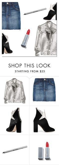 """""""340"""" by danielle-487 ❤ liked on Polyvore featuring Yves Saint Laurent, Frame, Charlotte Olympia and Urban Decay"""