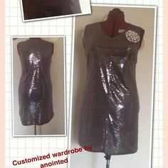 Shimmering dress by anointed