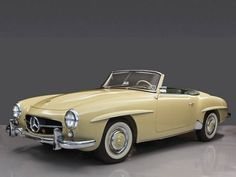1957 Mercedes-Benz #190SL Convertible - Sweet as fresh made butter Via: http://www.hemmings.com. For all your Mercedes Benz 190SL restoration needs please visit us at http://www.bruceadams190sl.com.