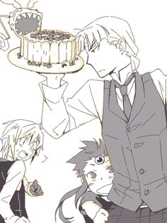 ... That looks yummy.... dgm, D. Gray-man, Howard Link, Allen Walker, Timcanpy, Timothy Hearst. I'm sorry I can't source it, I have no idea where it came from...
