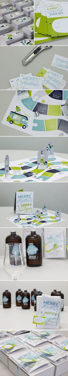 Client Christmas Gift on Behance