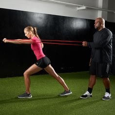 Learn more about resistance bands and what they can add to your workout, with Travelle Gaines.