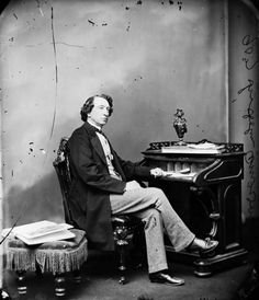 Sir John A. Macdonald, First prime minister of Canada. First Prime Minister, Canada, Yesterday And Today, Old Ones, Old Photos, My Hero, The Past, Old Things, History
