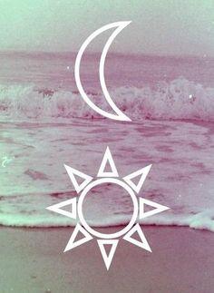 Sun moon ocean More