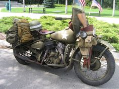 http://vintage Harley Davidson photo | Vintage Military Harley Davidson Motorcycle Picture | AstraOne.com ...