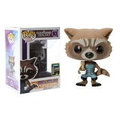 Funko Pop! Rocket & Potted Groot, Hot Topic Exclusive, Marvel, Guardians of the Galaxy, Guardiões da Galáxia, Funkomania, Quadrinhos