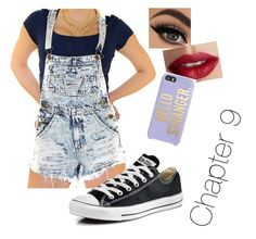 """""""Chapter 10"""" by caniffs-queens on Polyvore featuring beauty, Converse, TheBalm, Kate Spade, beaches, upthroughchapter6 and readnow"""