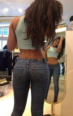 Nice booty in jeans at TheBestBooty.com