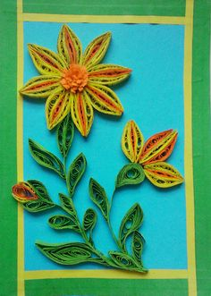 Can you believe that this was made with shredded paper? Yes I made this flower with shredded strips found in someone's recycling point on t...