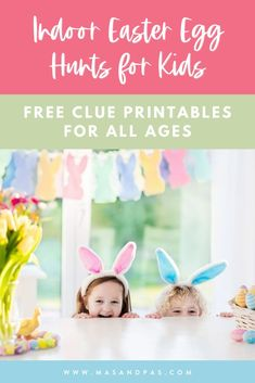 Whether it's a rainy, cold Easter or you just want fun indoor Easter ideas, grab our free printable Easter egg hunt clues for a cozy indoor kids activity! We've included different levels of rhyming clues so both toddlers and teens can enjoy the Easter scavenger hunt, and all you have to do is print off the clues, hide a few eggs, and you're all set! #indooreasteregghunt #easteregghunt #easterscavengerhunt #easteractivitiesforkids Easy Easter Crafts, Easy Crafts For Kids, Easter Ideas, Easter Egg Hunt Clues, Easter Eggs, Easter Scavenger Hunt, Easter Activities For Kids, Holiday Crafts, Free Printable