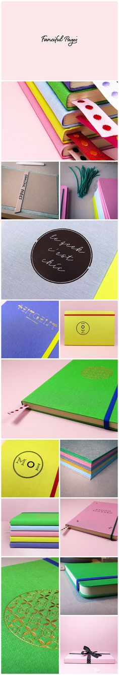 Fanciful journals on Behance