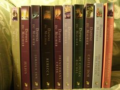 All books by Daphne Du Maurier