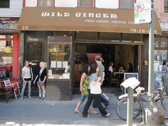 If you have a hankering for Chinese food but you don't want all the salt and mystery meat, look no further than Wild Ginger - serving up vegan asian fusion cuisine. 212 Bedford Ave.