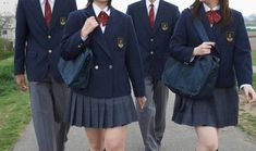 British School uniforms- I think it made life so much easier. My kids now have to have new clothes every week, just to keep up with the trends.