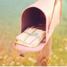 pastel mailbox