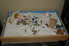 learning more about sand tray therapy...great for decreasing resistance in trauma work