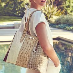 These handbags from Brahmin are perfect for spring