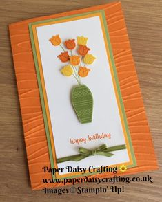 Taking part in the #Pootles team blog hop today. My card uses the #variedvasesbundle of stamp set and punch and the #seashore…