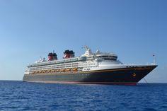 Disney Cruise Magic Ship picture on TheDisneyKids.com  #disneycruise  #DisneyMagicCruise
