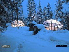 Kakslauttanen Hotel and Igloo Village in Kakslauttanen Finland : Unusual & Unique Hotels of the World
