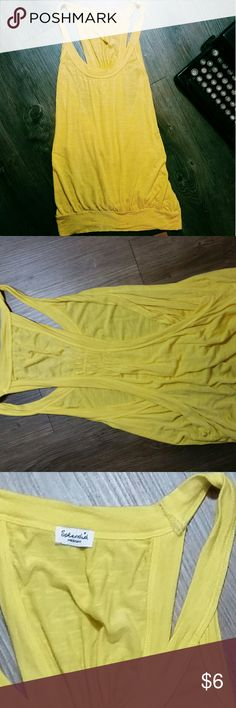 Yellow tank Super cute womens piece with no damage! Box 8 Splendid Tops Tank Tops