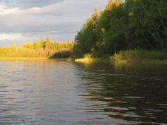 Rowing: Nechako River, BC