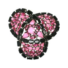 Roger Jean Pierre Massive Clip Brooch   From a unique collection of vintage brooches at https://www.1stdibs.com/jewelry/brooches/brooches/