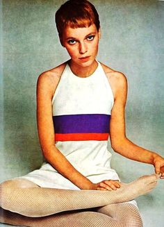 Mia Farrow. Richard Avedon. 1960s
