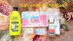 The Beauty Neuron: November Empties