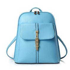 Women backpacks school bags students backpack ladies women's travel bags leather package