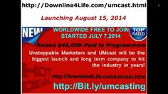 UMCast - Unstoppable Marketers Long Term Online Business http://downline4life.com/umcast.html