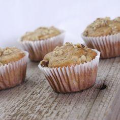 Banana Nut Mini Muffins Recipe http://bebetsy.com/2012/03/15/anana-nut-mini-muffins-recipe/ #food #recipe #bebetsy @tess_gardner