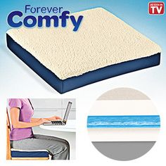 Forever Comfy Combination Cushion Gel http://www.forevercomfyreview.com